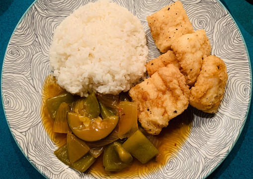 Cantonese Sweet & Sour Fish