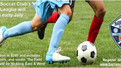 Adult Coed Soccer Starting Early July