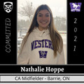 U17 Player Nathalie Hoppe signs with Western University!