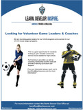 Volunteer Game Leaders and Coaches Needed