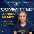 U17 Player Avery Ward signs with University of Windsor