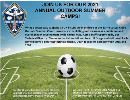 2021 Outdoor Summer Camp