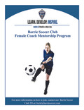 Barrie Soccer Female Coach Mentorship Program