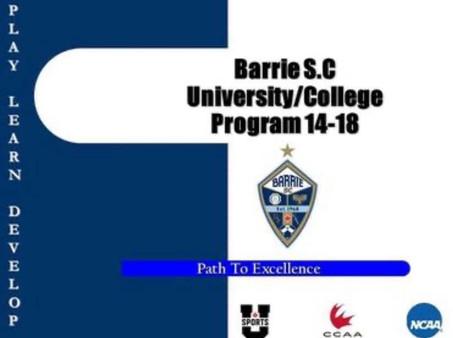College/University Preparation Program Participants