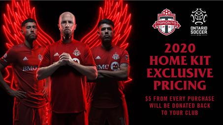 TFC & Ontario Soccer Jersey Fundraising