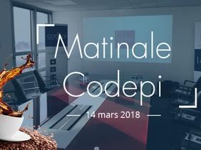 Les matinales de Codepi - spécial IT Partners mars 2018