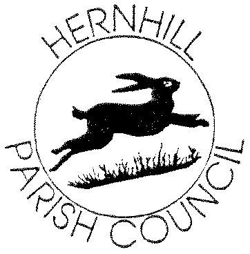Hernhill Parish logo of a  running hare