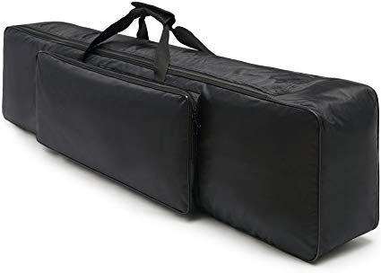 Housse orgue 61 touches - noir rembourrée