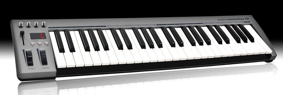Masterkey 49, contrôleur MIDI 49 touches