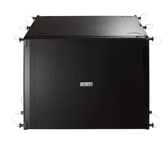 FBT - MUSE 118FSA, Caisson de basse amplifiée reversible 1200W RMS, 18''