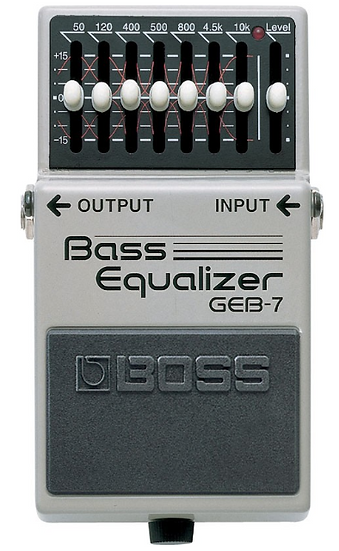 Boss - GEB7, Equalizer pour basse