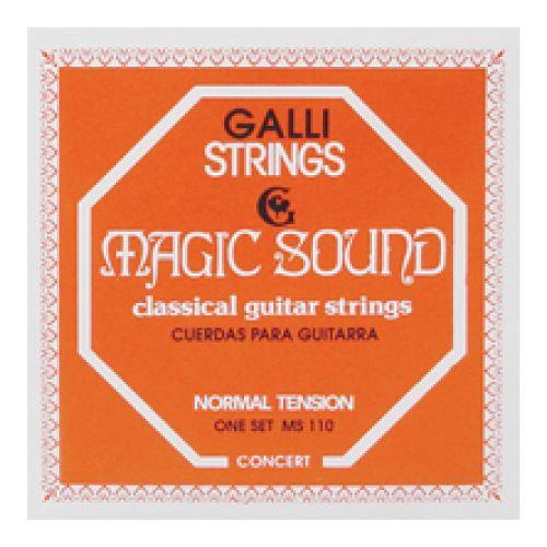 jeux de cordes Gali pour guitare classique