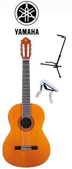 Guitare Classique YAMAHA C40 + Support + Capo