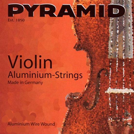 Pyramid Aluminium Jeu de Cordes Violon