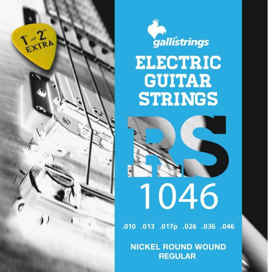 Galli RS1046 Nickel Round Wound Regular Strings 10-46