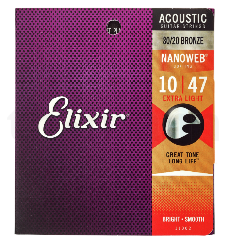 Cordes Guitare acoustique -  ELIXIR