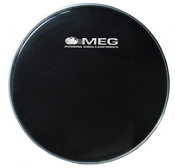 Meg -N14, Peau Caisse Claire Noir 14''