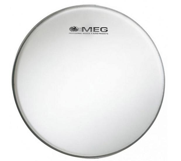 Meg - BS13, Peau Caisse Claire Blanc Standard 13''