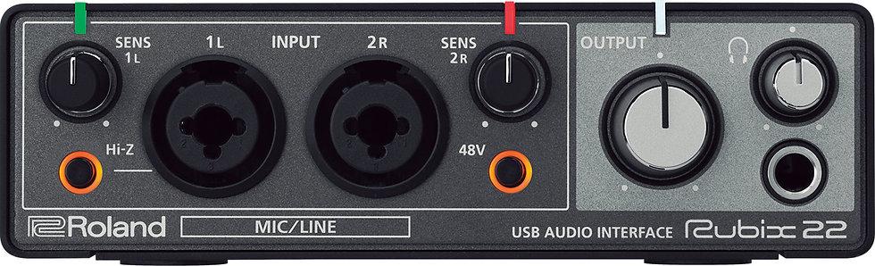 Rubix22 USB Audio Interface Roland
