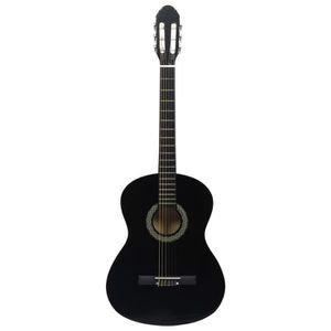 Guitare Classique MEG 2/4 noir