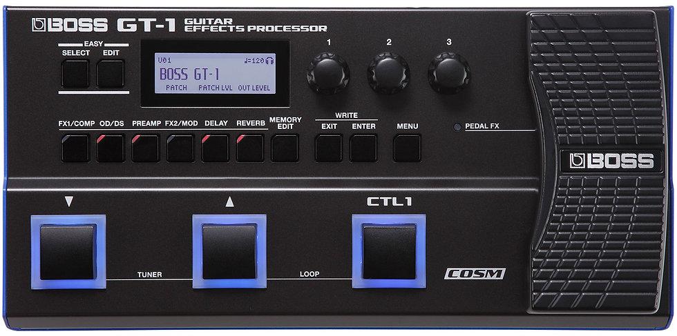 Pédale Multi-effets GT-1 - Boss