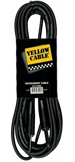 Yellow Cable - ECO G66D, Câble Jack/Jack 6m