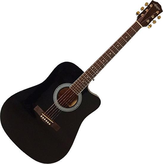 Guitare Acoustique AIERSI SG028C BK 4/4
