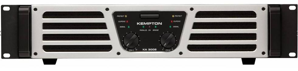 FBT - Kempton KA 3002, Ampli de puissance 2X1500W RMS/ 4 Ohms
