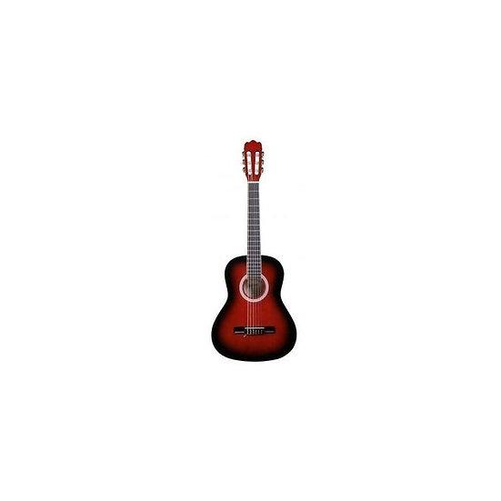 Guitare Classique MEG 2/4 rouge