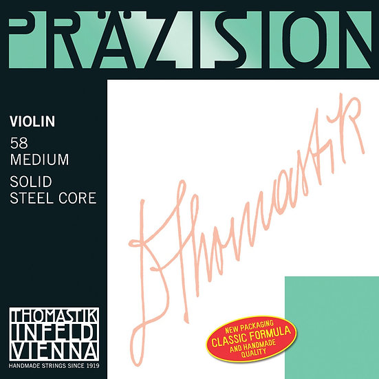 Jeu de cordes Violon Thomastik Prazision 58A