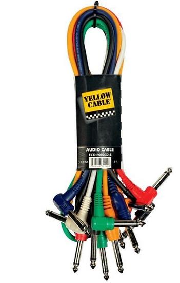Yellow Cable - P060CD, Jack mâle/ Jack mâle mono 60 cm .par unité