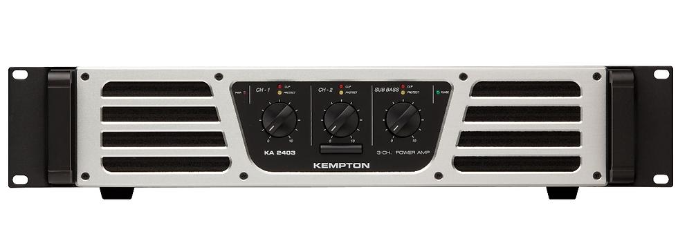 FBT -Kempton KA 2403, Ampli de puissance 1200W RMS/ 4 Ohms