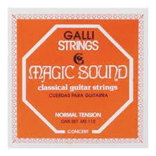 Cordes Guitare Classique Galli MS110
