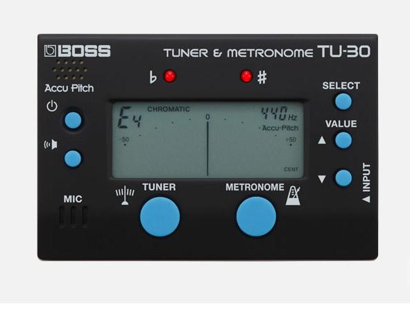 Boss TU-30 Tuner & Metronom
