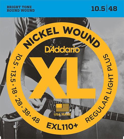 EXL110+  Cordes guitare électrique D'addario