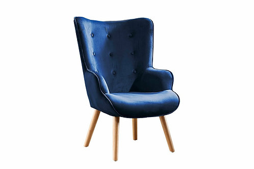 Butaca Diseño Nordica Azul