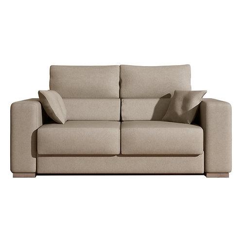 Sofá de 2 plazas Corinto, 164×90 cm