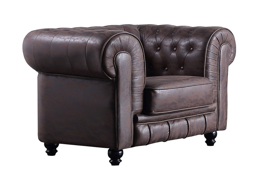SILLON CHESTERFIELD 1 PLAZA VINTAGE.