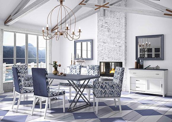 mueble azul