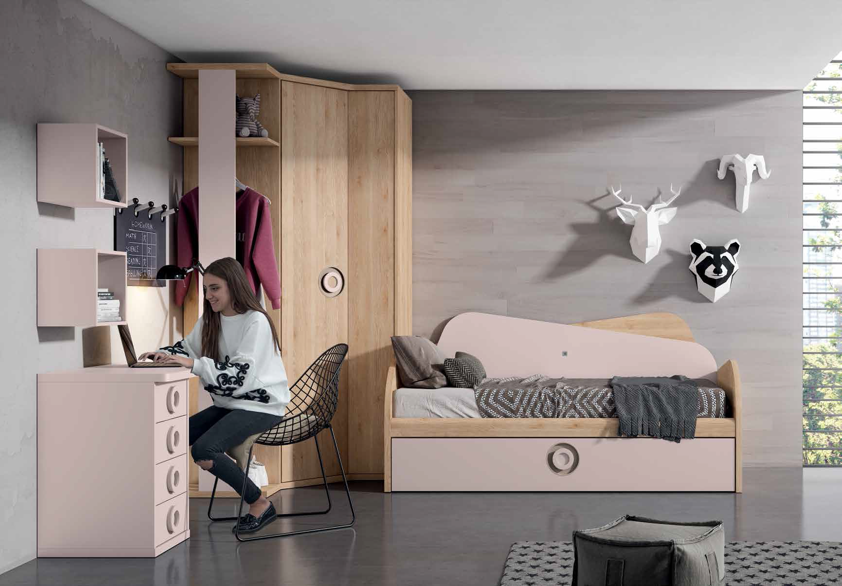 Cama Nido con 2 camas