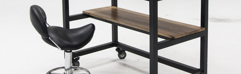 ROLLING TABLE AND CHAIR