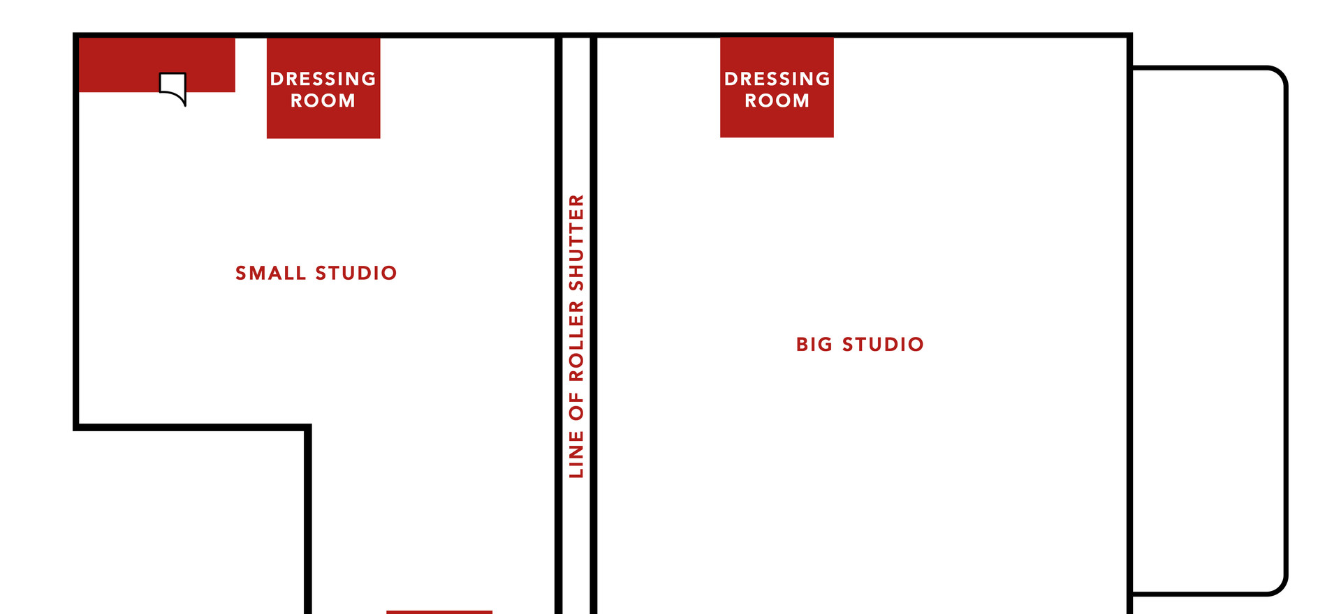 WHOLE STUDIO FLOORPLAN