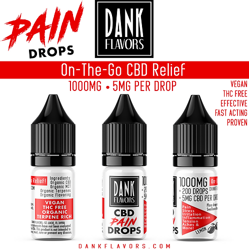 Pain Drops 'On-The-Go' Relief