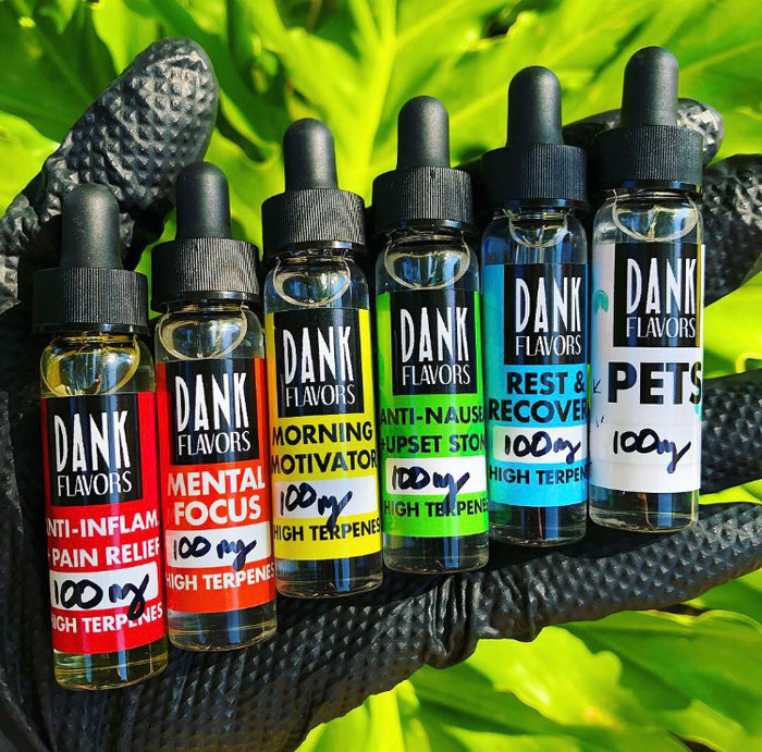 Dank Flavors created the 1st CBD Tester Packs!