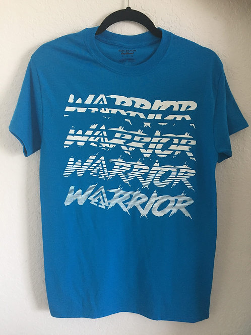 Unisex IAA Warrior Tee (Blue)