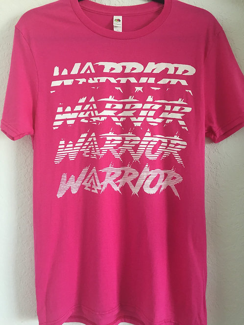 Unisex IAA Warrior Tee Pink)