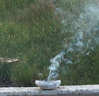 Sacred Smudge Incense, Exmoor 2018