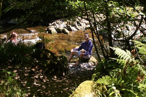 Rod in Watersmeet, Exmoor