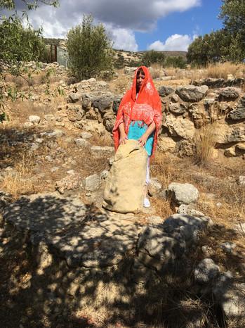 Angie in Crete