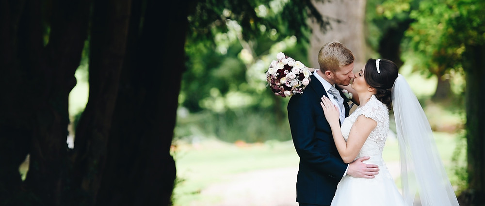 Stunning bride and groom | West Sussex Wedding Videographer
